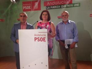 José Martínez Olmos, Elvira Ramón y Gregorio Cámara.