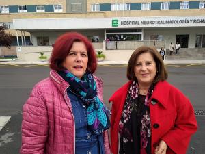 Elvira Ramón y María José Sánchez.