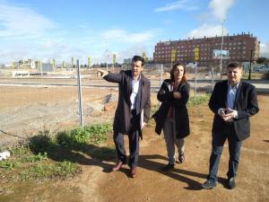 Javier Aragón con Francisco Cuenca y Raquel Ruz.