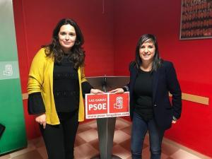 Vanessa Polo (drcha.) y María Jesús Muñoz.