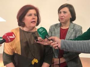Elvira Ramón y Sandra García.