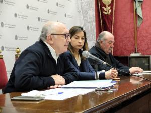 Francisco Torres, Marta Gutiérrez y Ramón Arenas.