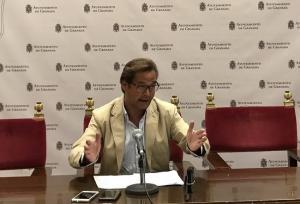 Antonio Granados en rueda de prensa.