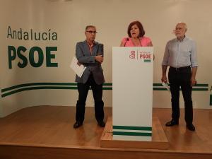 Elvira Ramón con José Martínez Olmos y Gregorio Cámara.