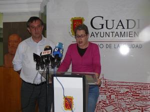 Inmaculada Olea y Manuel Gómez.