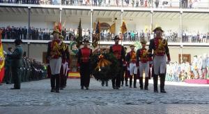 Homenaje a los guardias civiles caídos en acto de servicio en la festividad de su patrona.