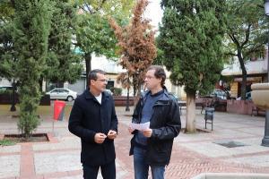 Pedro Honrubia y Manuel Morales.