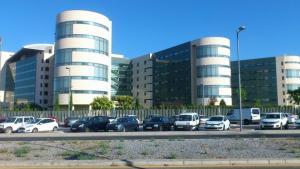El nuevo Hospital en el PTS.