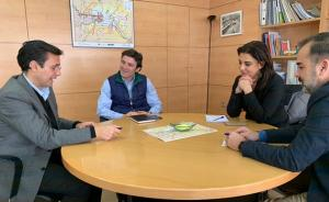 Reunión del PSOE con la dirección del Consorcio de Transportes.