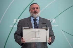 Pablo García, delegado del Gobierno andaluz.