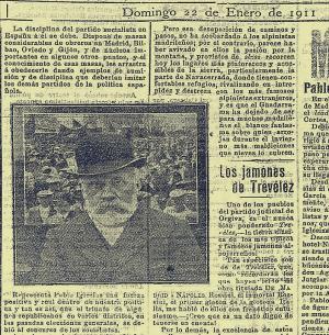 Recorte de prensa aparecido en El Defensor de Granada.