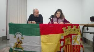 Jesús de Manuel y Manuela de Parejo, en la jornada.