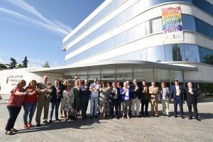 La Diputación se declaró en junio pasado espacio a favor de la diversidad.