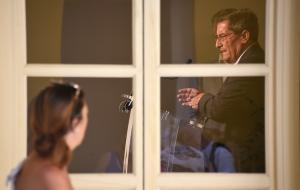 El presidente de la Diputación ha comparecido este lunes para presentar las prioridades en el nuevo curso político.