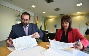 Germán González y Olvido de la Rosa.