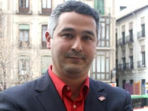 Juan Francisco Arenas de Soria, diputado provincial de IU.