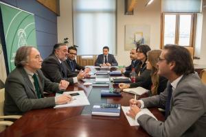 Primera reunión de delegados de la Junta en Granada este año.