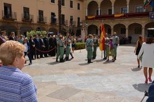 El acto se ha celebrado en la Plaza de las Palomas.