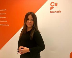 La concejala Lorena Ruiz.