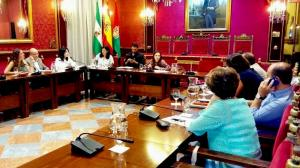 Lorena Rodríguez, en la comisión de Derechos Sociales.