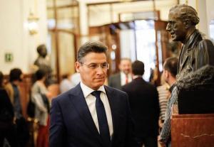 El diputado de Cs Luis Salvador.