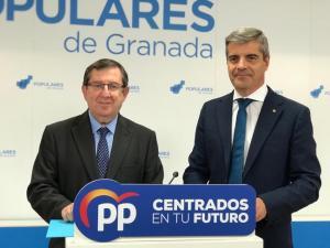 Luis González y César Díaz.