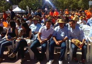 Luis Salvador en el acto de Ciudadanos en Madrid.