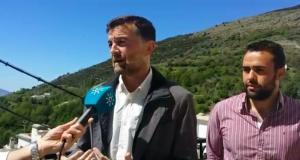 Antonio Maíllo este lunes en Granada.
