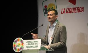 Antonio Maíllo, este domingo en Albolote.