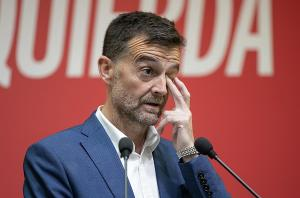 Antonio Maíllo, este lunes en rueda de prensa.