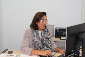 María Francés en una imagen de archivo.