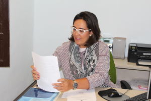 La concejala del PP María Francés.