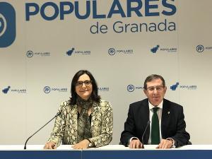 María José Martín y Luis González.