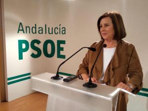 María José Sánchez, este lunes en rueda de prensa.
