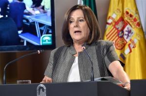 La consejera María José Sánchez.