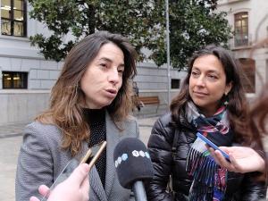 Marta Gutiérrez y Mayte Olalla.