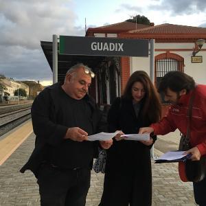 Ana Terrón en Guadix.