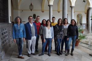 Mesa de coordinación del partido Vamos,Granada.