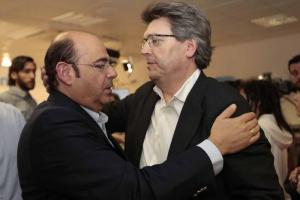 Sebastián Pérez y José Torrente, cariacontecidos.