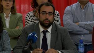 Juan Francisco Mancilla, en rueda de prensa.