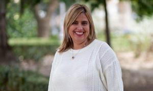 La socialista Nuria Gutiérrez.