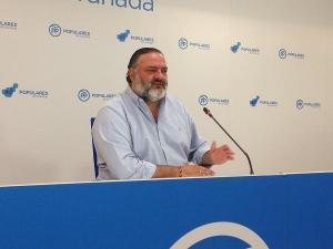 Pablo García, secretario provincial del PP de Granada.