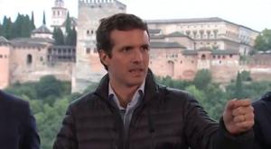 Pablo Casado este sábado en Granada.