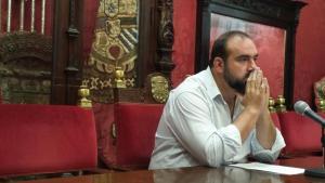 Francisco Puentedura, portavoz de IU en el Ayuntamiento.