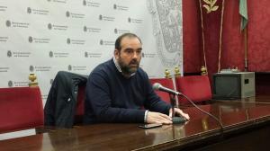 Francisco Puentedura en una rueda de prensa.