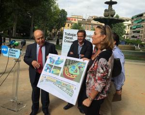 Torres Hurtado, con Nieto y otros miembros de la candidatura.