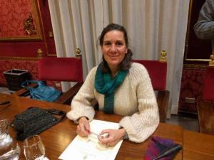 Pilar Rivas, concejal de Vamos Granada.