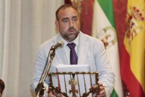 Francisco Puentedura, en el pleno de investidura.