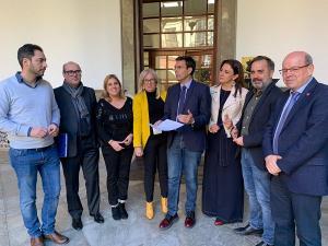 El PSOE ha registrado la convocatoria de un pleno extraordinario.