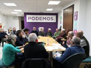 Asamblea del Consejo Municipal Ciudadano de Podemos.